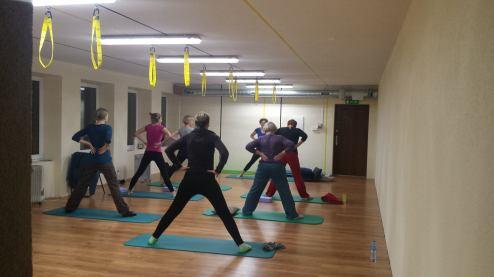 Lu Dzong Ieva Gym studijoje