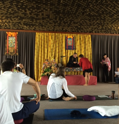 Mindfulness Teachers education - Portugal - 2016.05