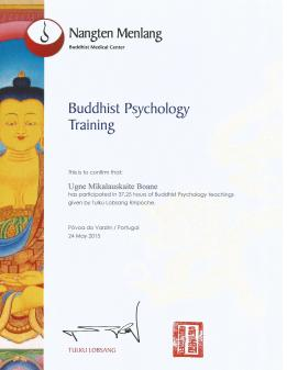 Buddhist psychology diploma